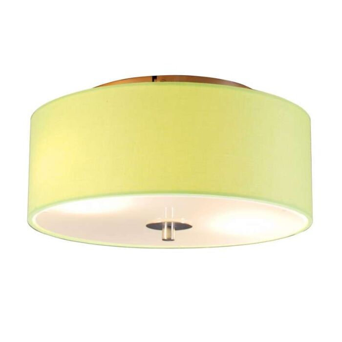 Ceiling-Lamp-Drum-30-Round-Lime
