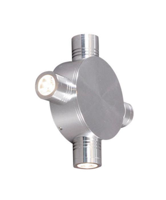Wall-lamp-Star-LED-4-alu