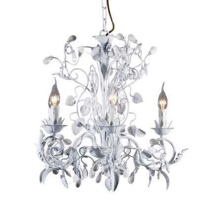 Chandelier-Romance-5-lights-white
