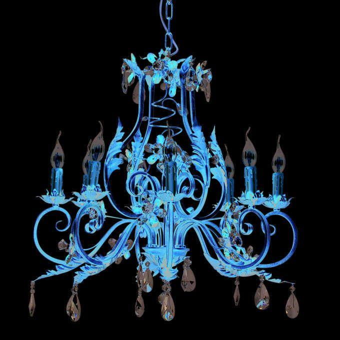 Chandelier-Sissy-8-lights-antique-gold