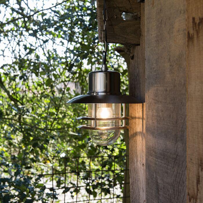Retro-hanging-lamp-steel---Shell