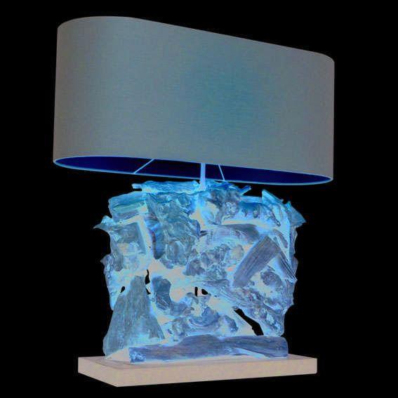 Table-Lamp-Raman-Recta-Natural---Brown-Shade