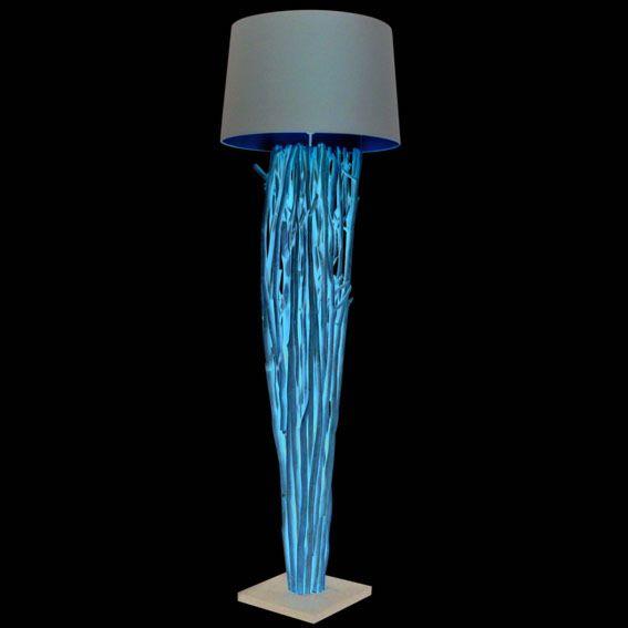 Floor-Lamp-Phatom-Natural---Brown-Shade