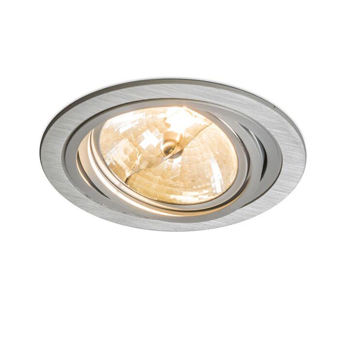 Built-in-Spotlight-Impact-Round-Aluminium