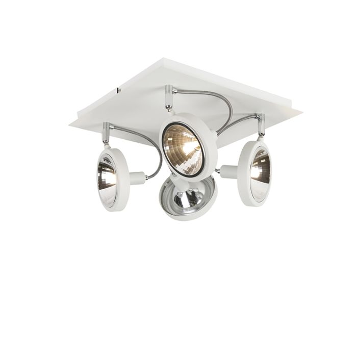 Modern-Adjustable-Ceiling-Spotlight-4-White---Nox