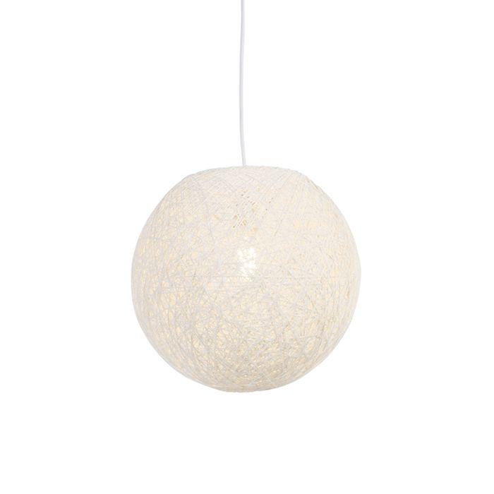 Country-hanging-lamp-white-35-cm---Corda