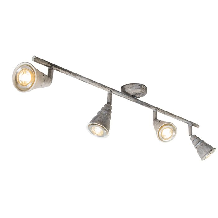 Ceiling-spot-gray-swivel-and-tiltable---Coney-4