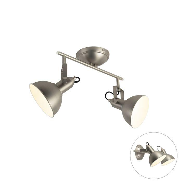 Ceiling-spot-steel-2-light-swivel-and-tilt---Tommy