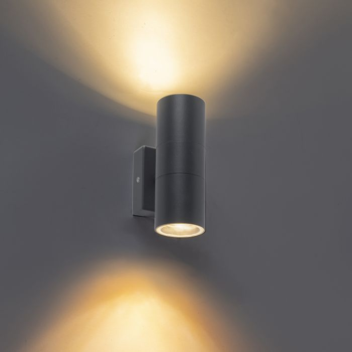 Outdoor-Wall-Lamp-Anthracite-IP44---Duo