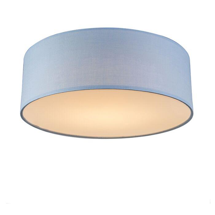 Ceiling-lamp-blue-30-cm-incl.-LED---Drum-LED