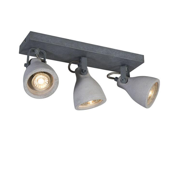 Industrial-spot-gray-concrete-3-lights---Creto