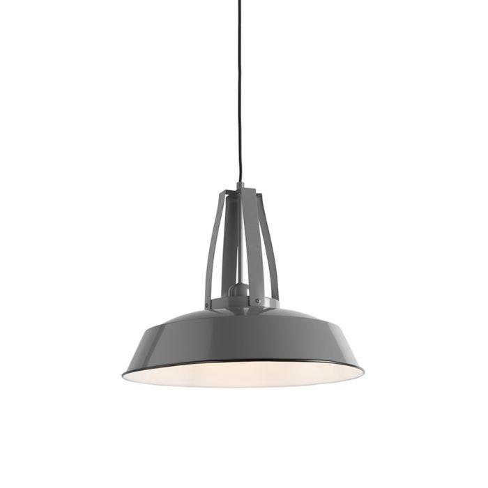 Vintage-hanging-lamp-gray-43-cm---Living