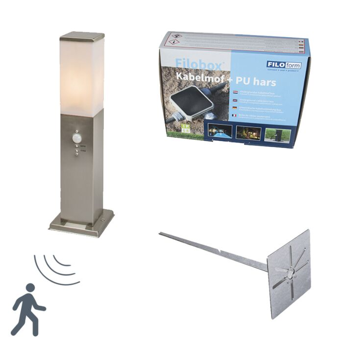 Outdoor-Pole-Malios-45-Steel-Motion-Sensor-with-Ground-Pin-and-Cable-Sleeve