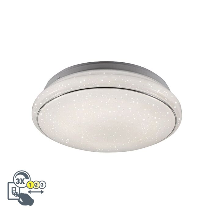 Modern-Ceiling-Lamp-White-3-in-1-incl.-LED---Mars