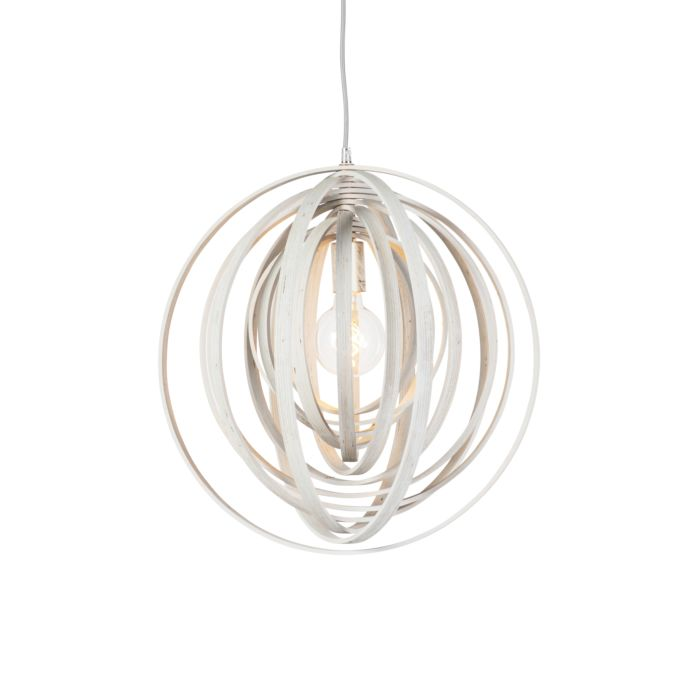 Modern-Round-Pendant-Lamp-White-Wood---Arrange