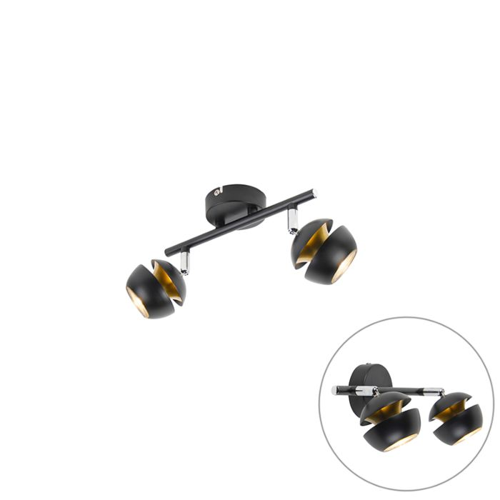 Modern-Spotlight-2-Black-with-Gold---Buell-Deluxe-