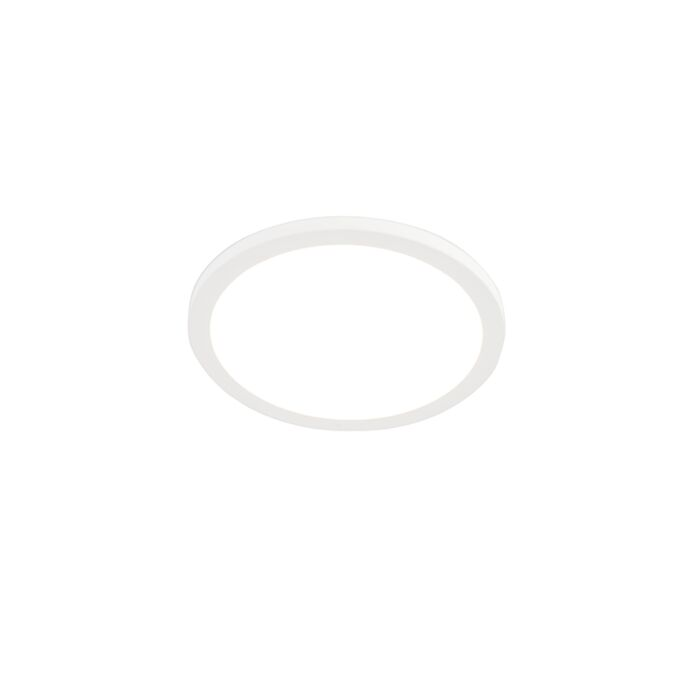 Modern-recessed-or-surface-mounted-spot-white-29.5-cm-incl.-LED---Trans
