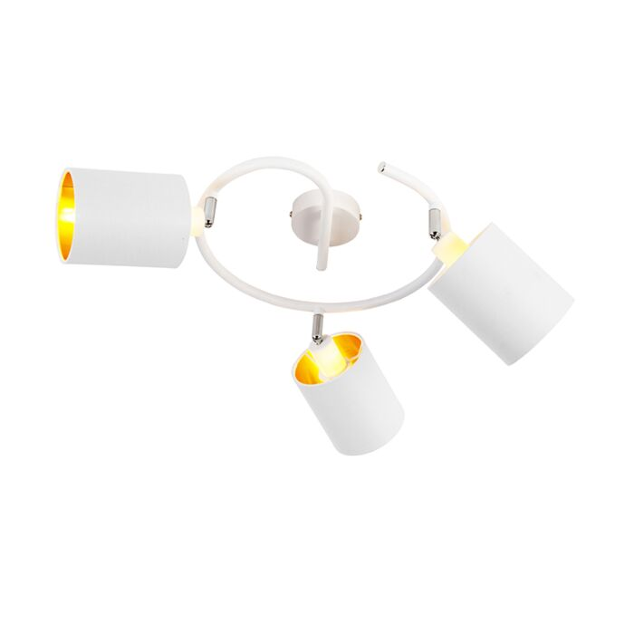 Modern-Ceiling-Lamp-3-White---Lofty
