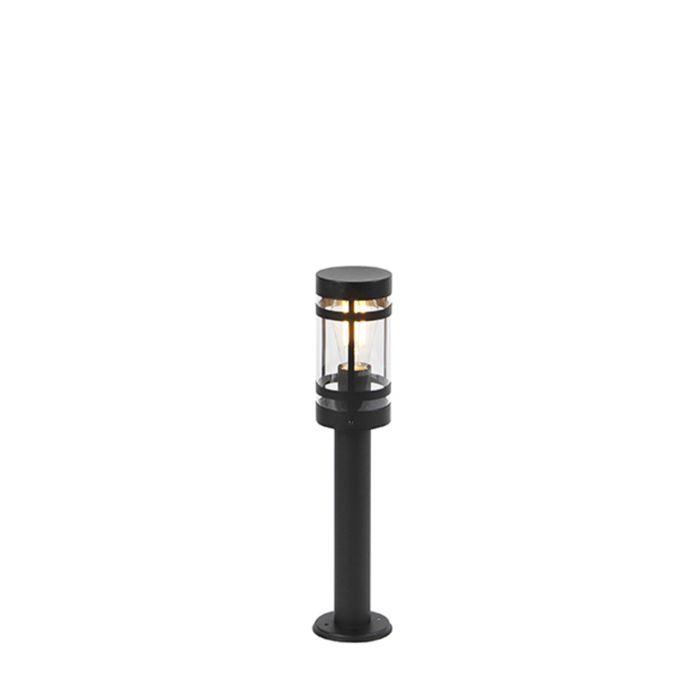 Modern-outdoor-lamp-black-50-cm-IP44---Gleam