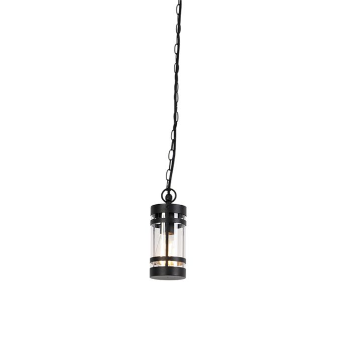 Modern-outdoor-hanging-lamp-black-IP44---Gleam