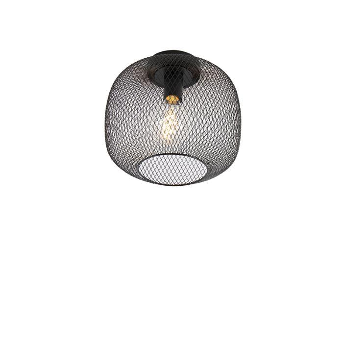 Modern-black-ceiling-lamp---Bliss-Mesh