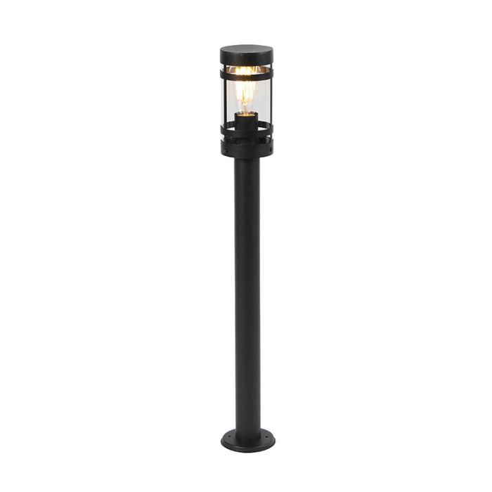 Modern-outdoor-lamp-black-80-cm-IP44---Gleam