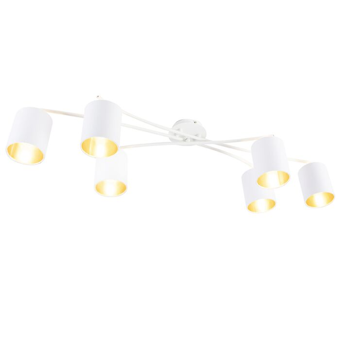 Modern-Ceiling-Lamp-6-White---Lofty