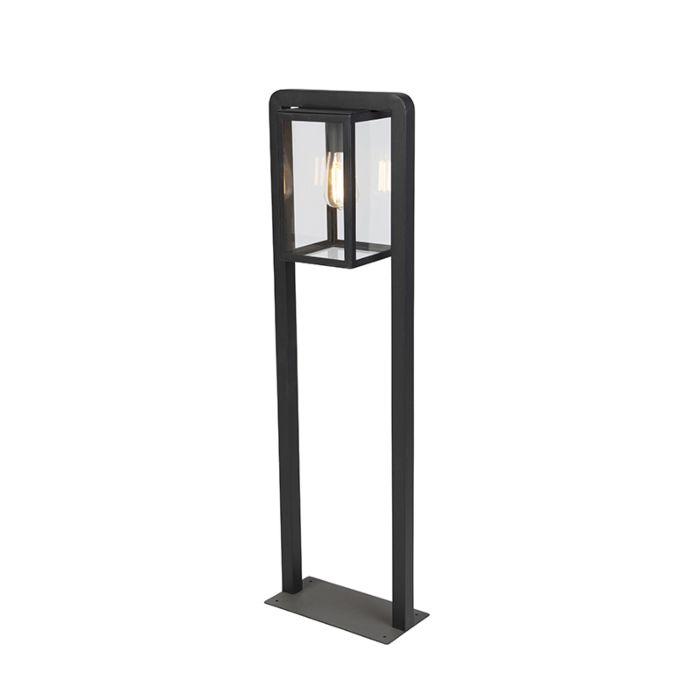 Modern-square-standing-outdoor-lamp-black---Jarra-Balanco