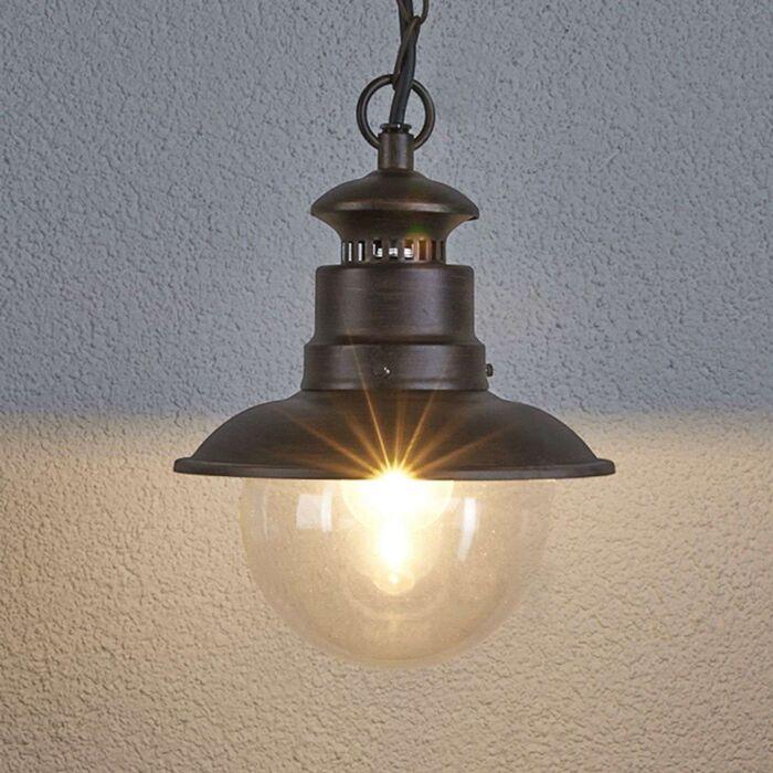 Industrial-hanging-lamp-rust-brown---Eddie