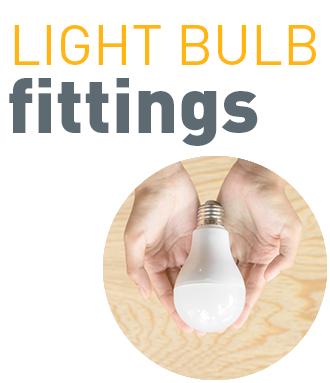 Light bulb fittings
